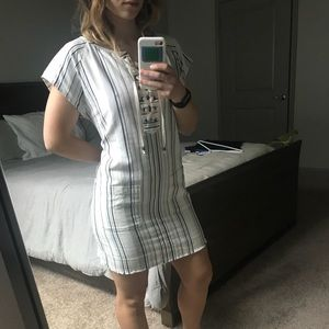 Boho striped dress